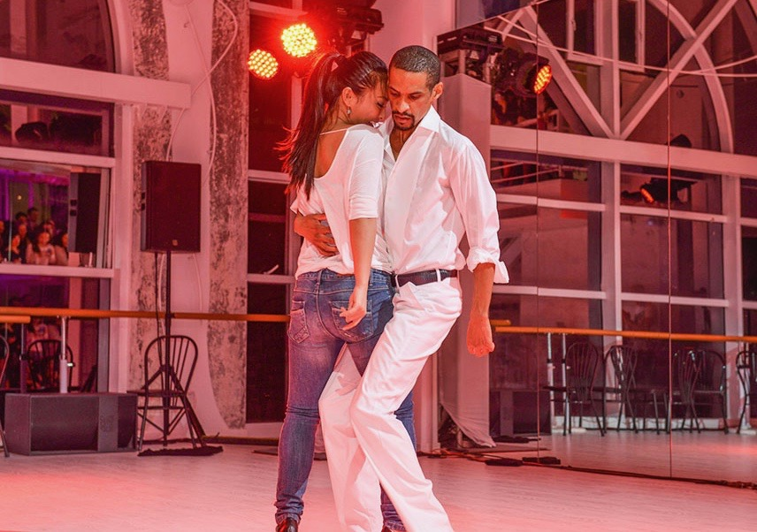 Learn how to dance salsa