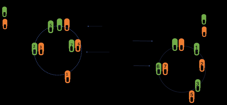Typical circular move that define Casino dance