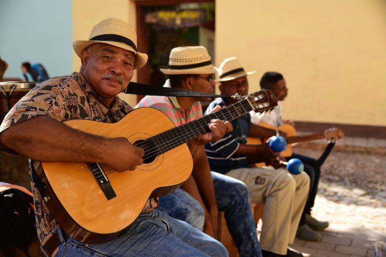 Cuban Salsa musicians