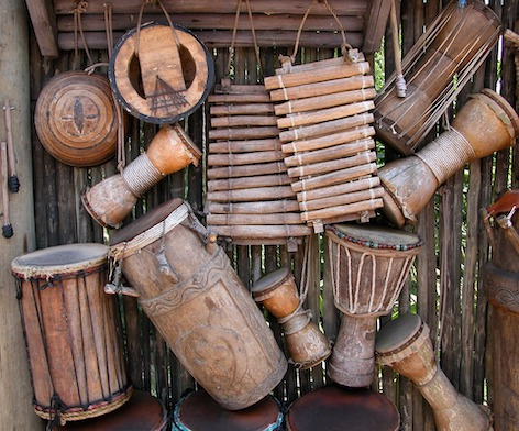 Instruments to dance to the Rhythm