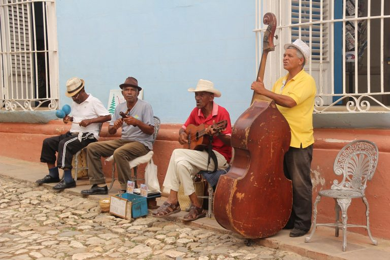 Salsa Musicians in Cuba